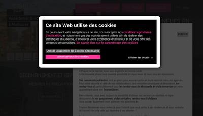 Site internet de Trianon Residences