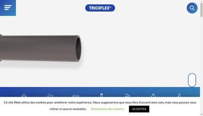 Site internet de Tricoflex