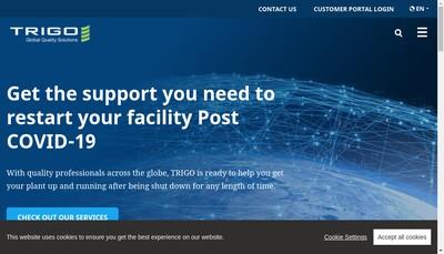 Site internet de Trigo Western Europe
