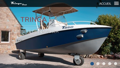 Site internet de Tringaboat