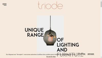 Site internet de Triode