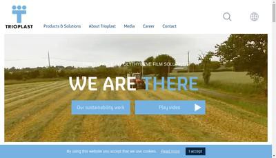 Site internet de Trioworld Saint-Ouen