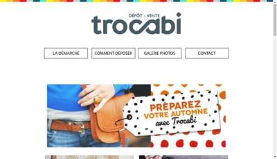 Site internet de Trocabi