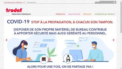 Site internet de Trodat France
