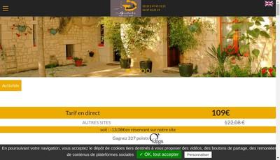 Site internet de Hotel Loire Valley Nature