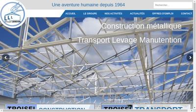 Site internet de Societe Troisel