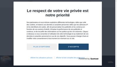 Site internet de Tropique Fm