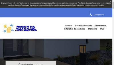 Site internet de Truch'Elec