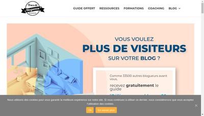 Site internet de Ma Petite Web Entreprise, Trucs de Blogueuse
