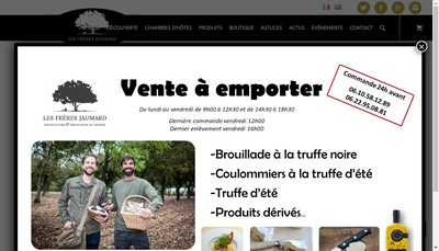 Site internet de Les Freres Jaumard