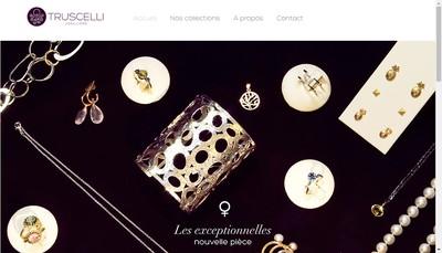 Site internet de Truscelli Creations
