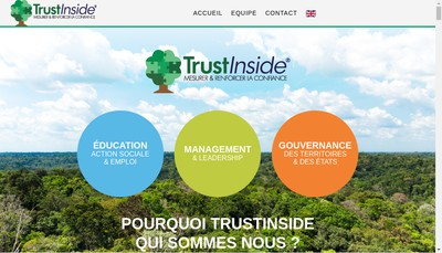 Site internet de Pierre Winicki Conseil