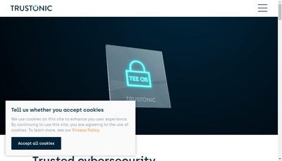 Site internet de Trustonic