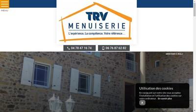Site internet de Trv Menuiserie