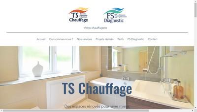 Site internet de Ts Chauffage