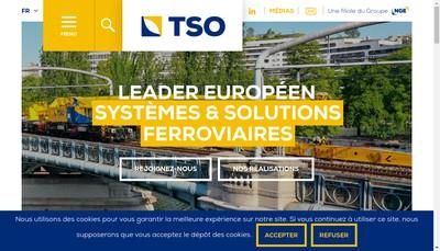 Site internet de Tso Catenaires