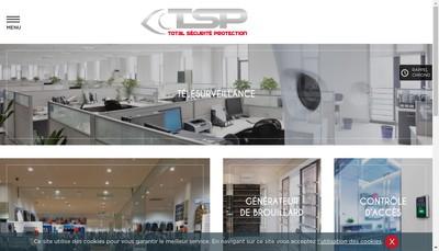 Site internet de TSP - Total Securite Protection