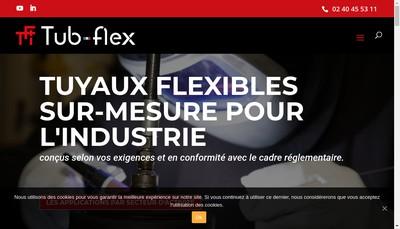 Site internet de Tub Flex Industries