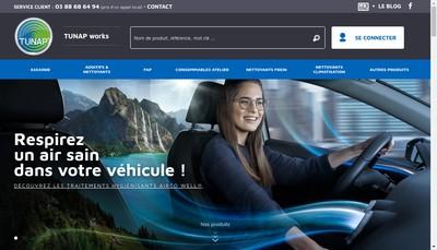 Site internet de Tunap France