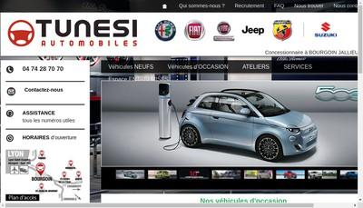 Site internet de Fiat Alfa Romeo
