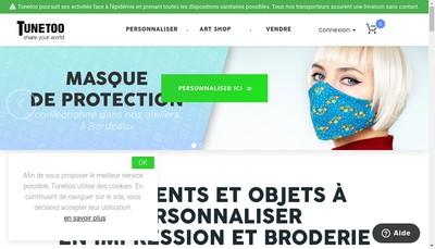 Site internet de Tunetoo