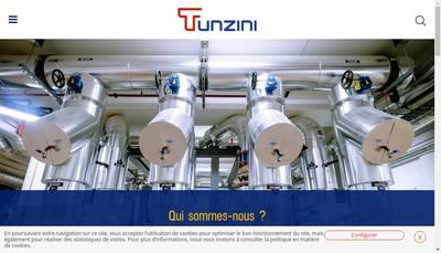 Site internet de Tunzini Azur
