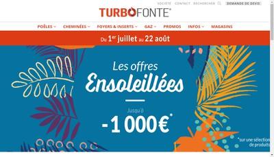 Site internet de Turbo Fonte