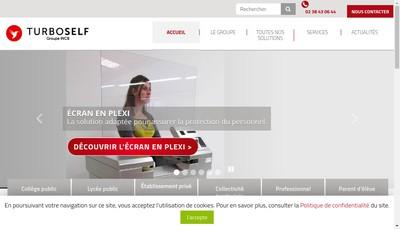 Site internet de Turboself Groupe