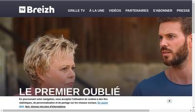 Site internet de Tv Breizh