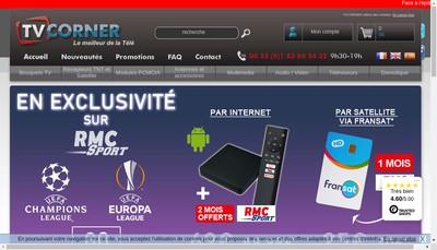Site internet de Tvcorner Com