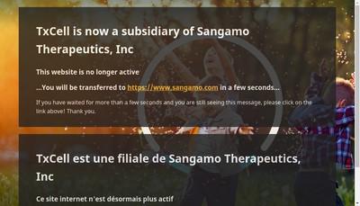 Site internet de Sangamo Therapeutics, Sangamo Therapeutics France