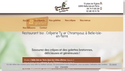 Site internet de Ty Ar C'Hrampouz