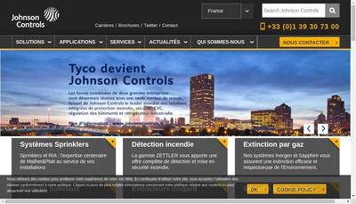 Site internet de Tyco Europe SAS