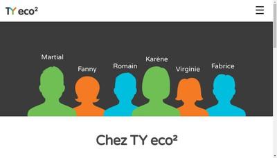Site internet de Ty Eco2