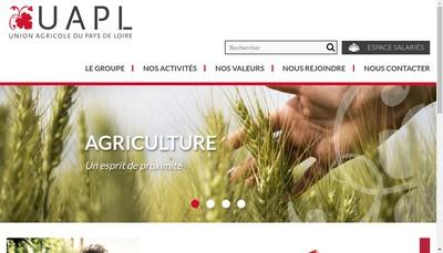 Site internet de Uapl