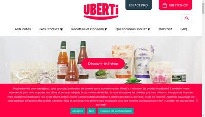 Site internet de Mondial Uberti'S