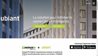Site internet de Ubiant