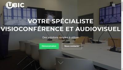 Site internet de Ubic
