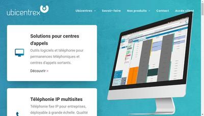 Site internet de Ubicentrex