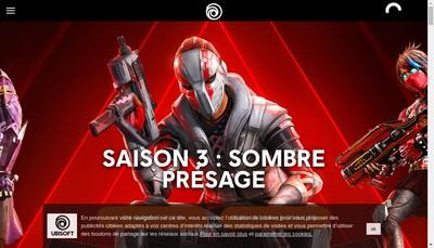 Site internet de Ubisoft Entertainment