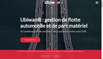 Site internet de Ubiwan