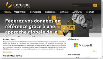 Site internet de Ucase Consulting