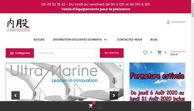 Site internet de Uchimata Sailing Service