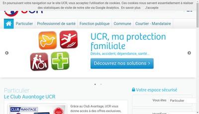 Site internet de L'Union des Centrales Regionales