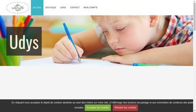 Site internet de Udys