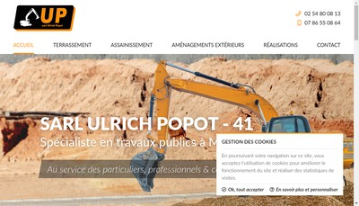 Site internet de Ulrich Popot