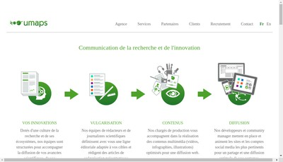Site internet de Umaps