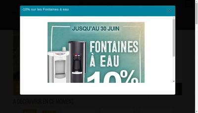 Site internet de Un Amour de Cafe