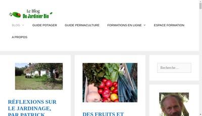 Site internet de Les Editions du Jardinier Bio