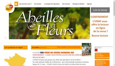 Site internet de Union Nationale Apiculture Francaise